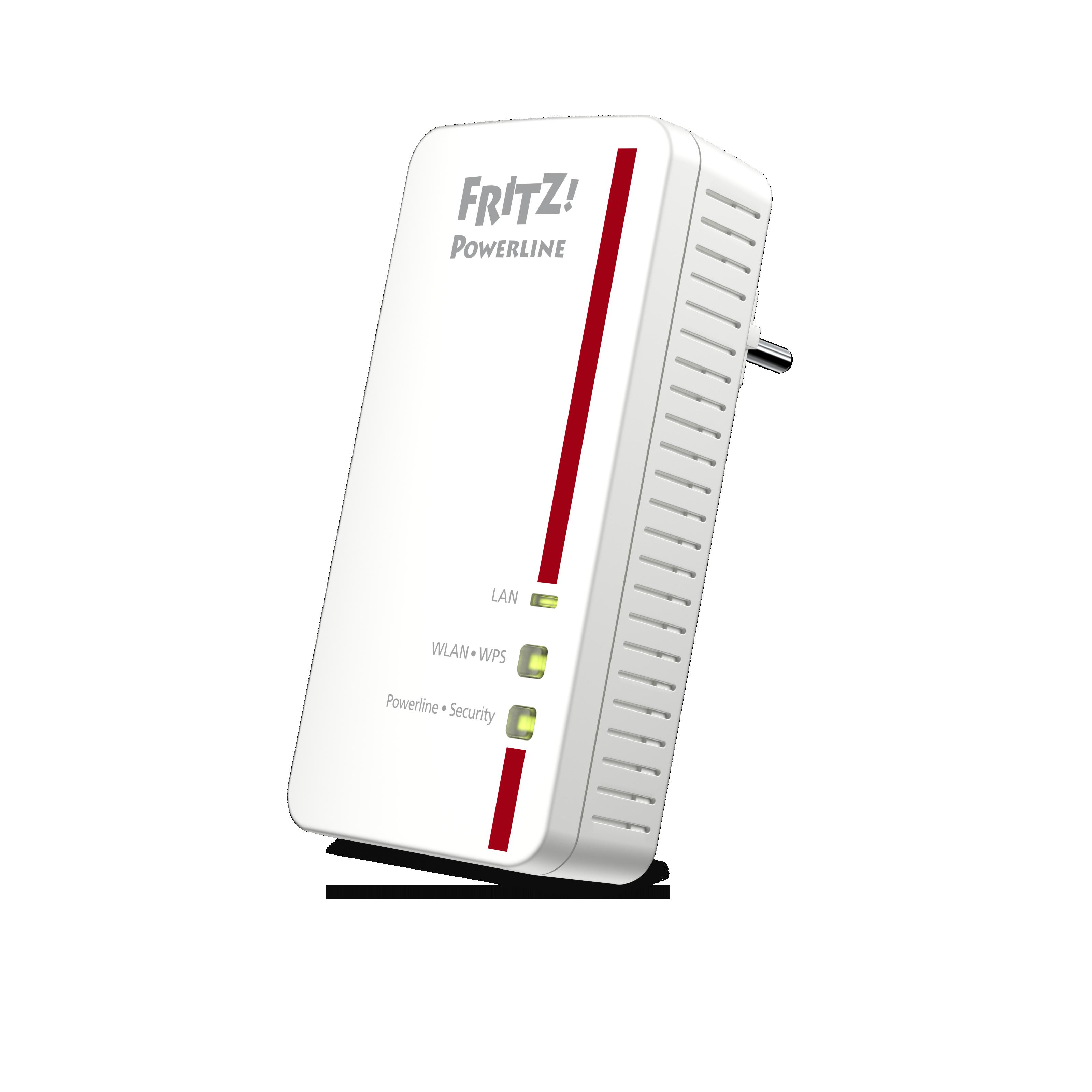 fritz powerline 1260e neuer wlan adapter f r die steckdose von avm landet im handel. Black Bedroom Furniture Sets. Home Design Ideas