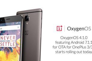 OnePlus 3 & 3T erhalten finales OxygenOS 4.1.0 (Android 7.1.1)