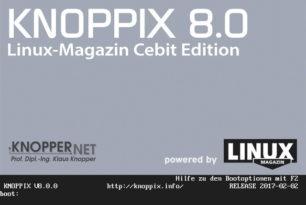 Knoppix 8.0 mit Debian 8 und vielen Änderungen steht bereit