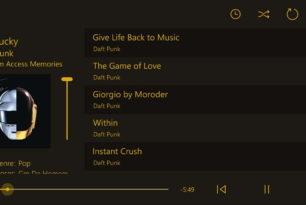 App des Tages: Loco music player als Universal App