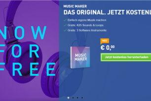 Magix Music Maker Vollversion jetzt kostenlos