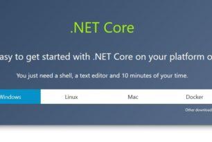 Microsoft – .NET Core Tools ab sofort zum Download verfügbar