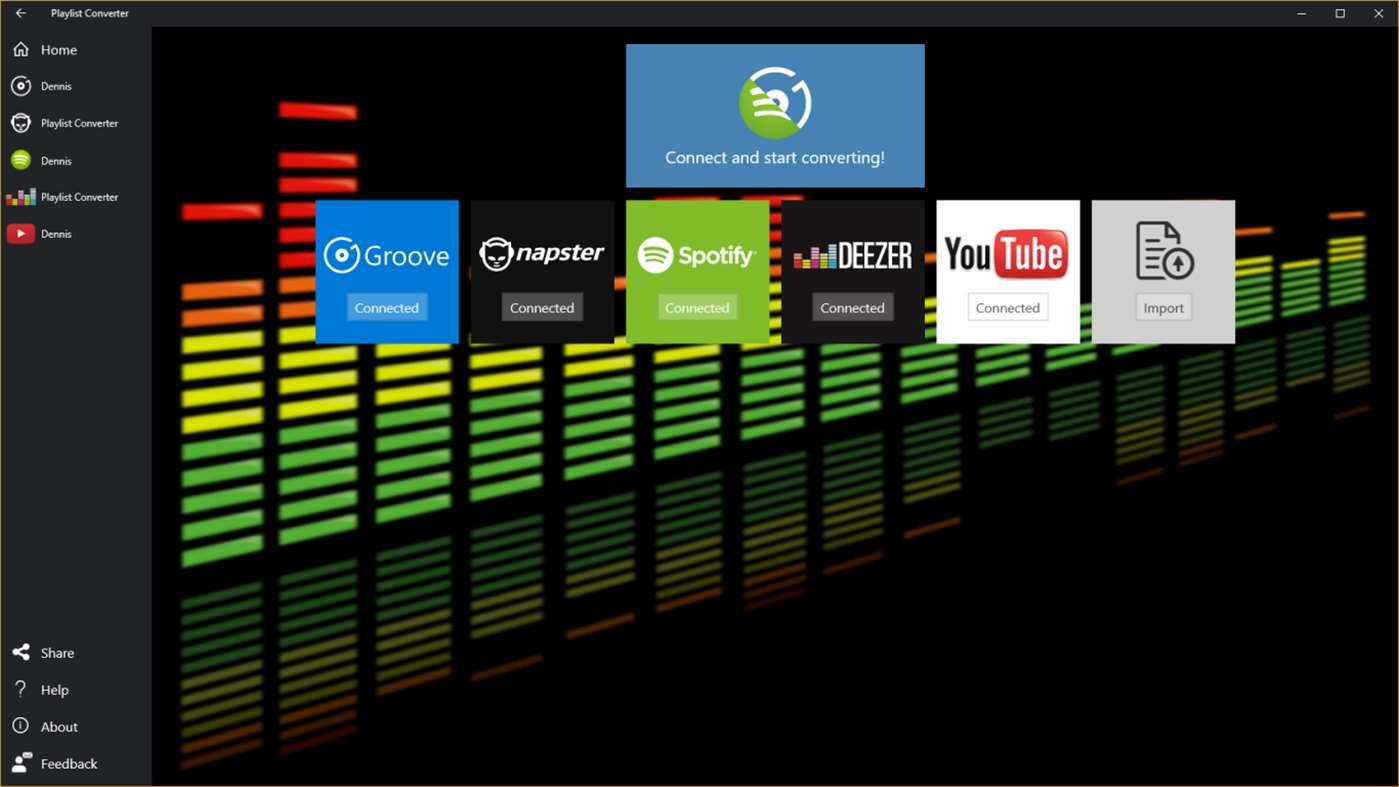 App des Tages Playlist Converter für Windows 20 und Mobile ...