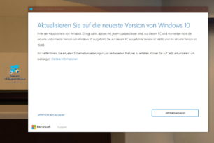 Windows 10 Upgade Assistent auf die 15063 (1703) geleakt