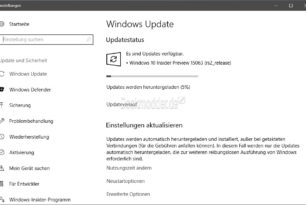 Windows 10 15063 nun auch im Slow Ring
