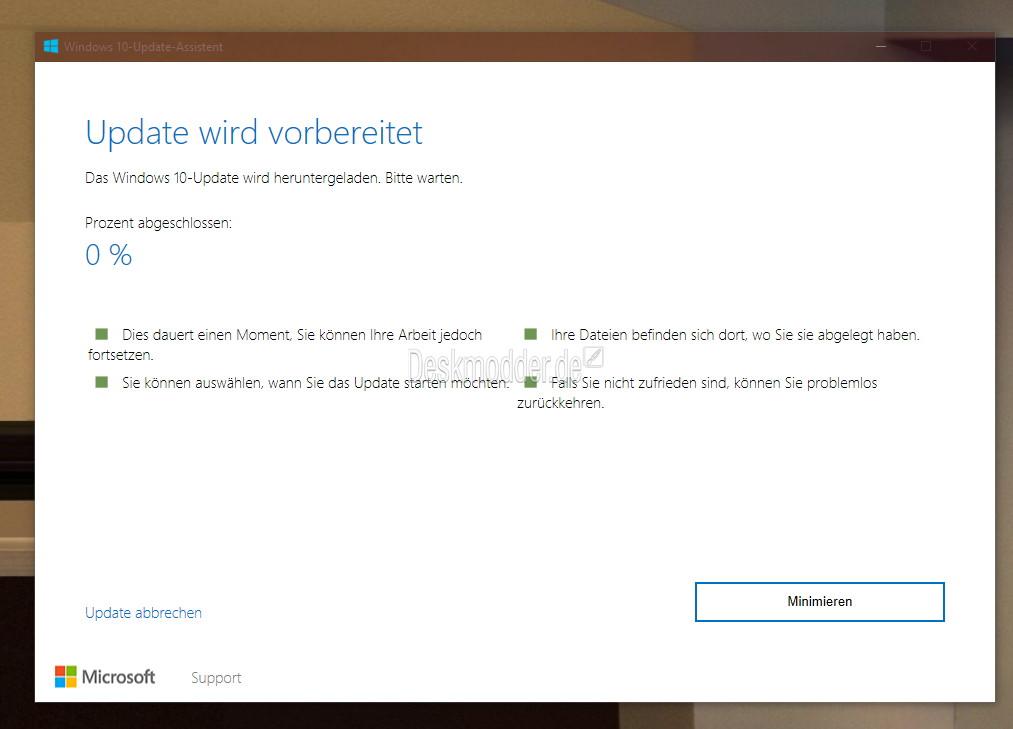 Windows 10 Assistent