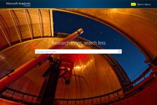 Microsoft Academic Search 2.0 ist gestartet mit neuer Grafik-Engine