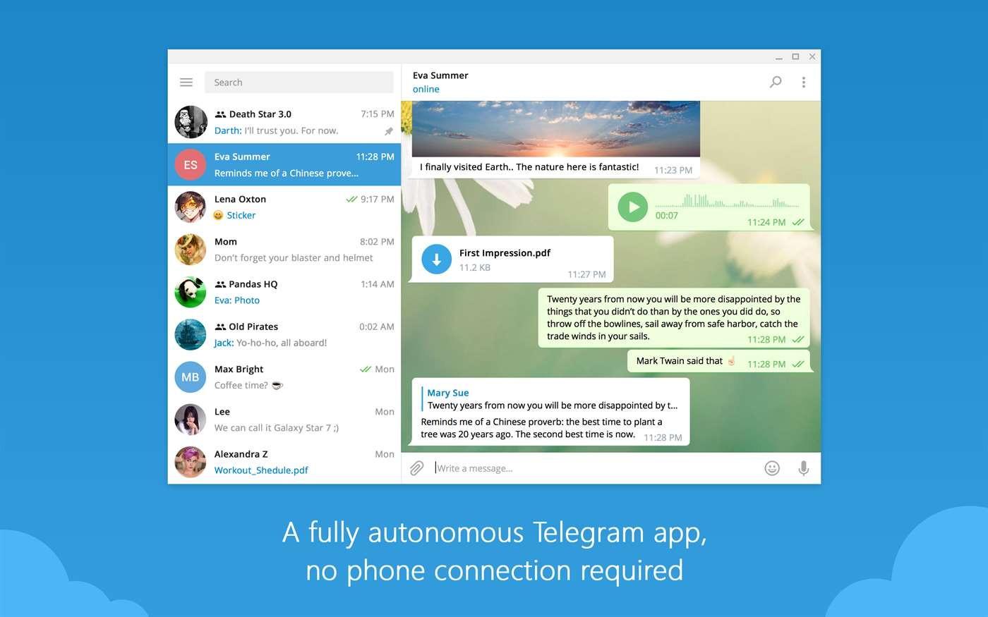 Telegram App Windows