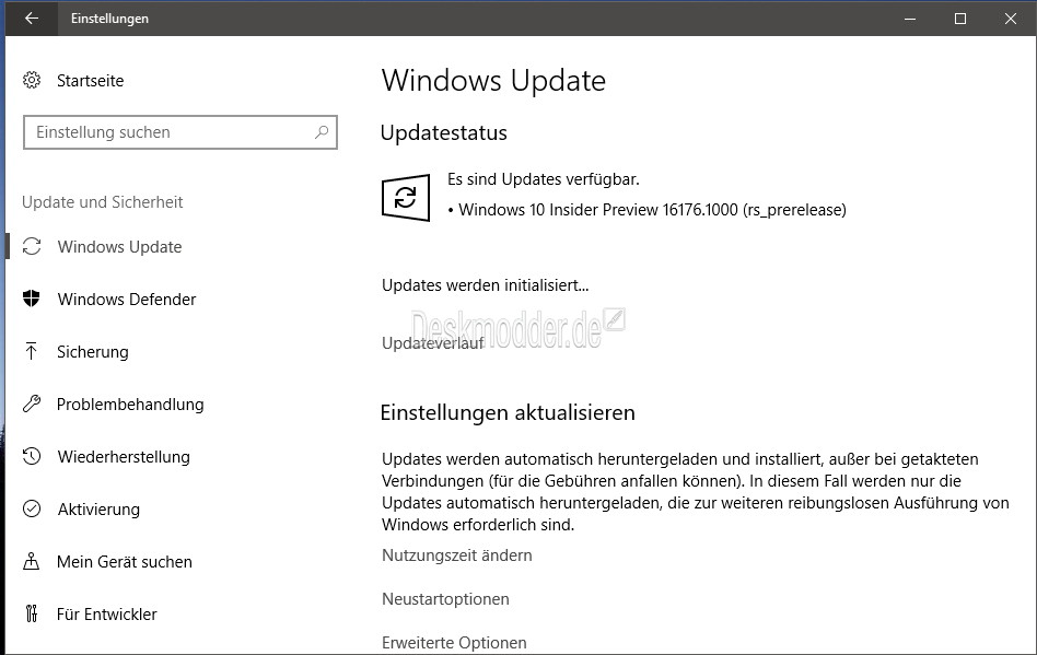 Windows 10: Redstone 3 soll Strom sparen