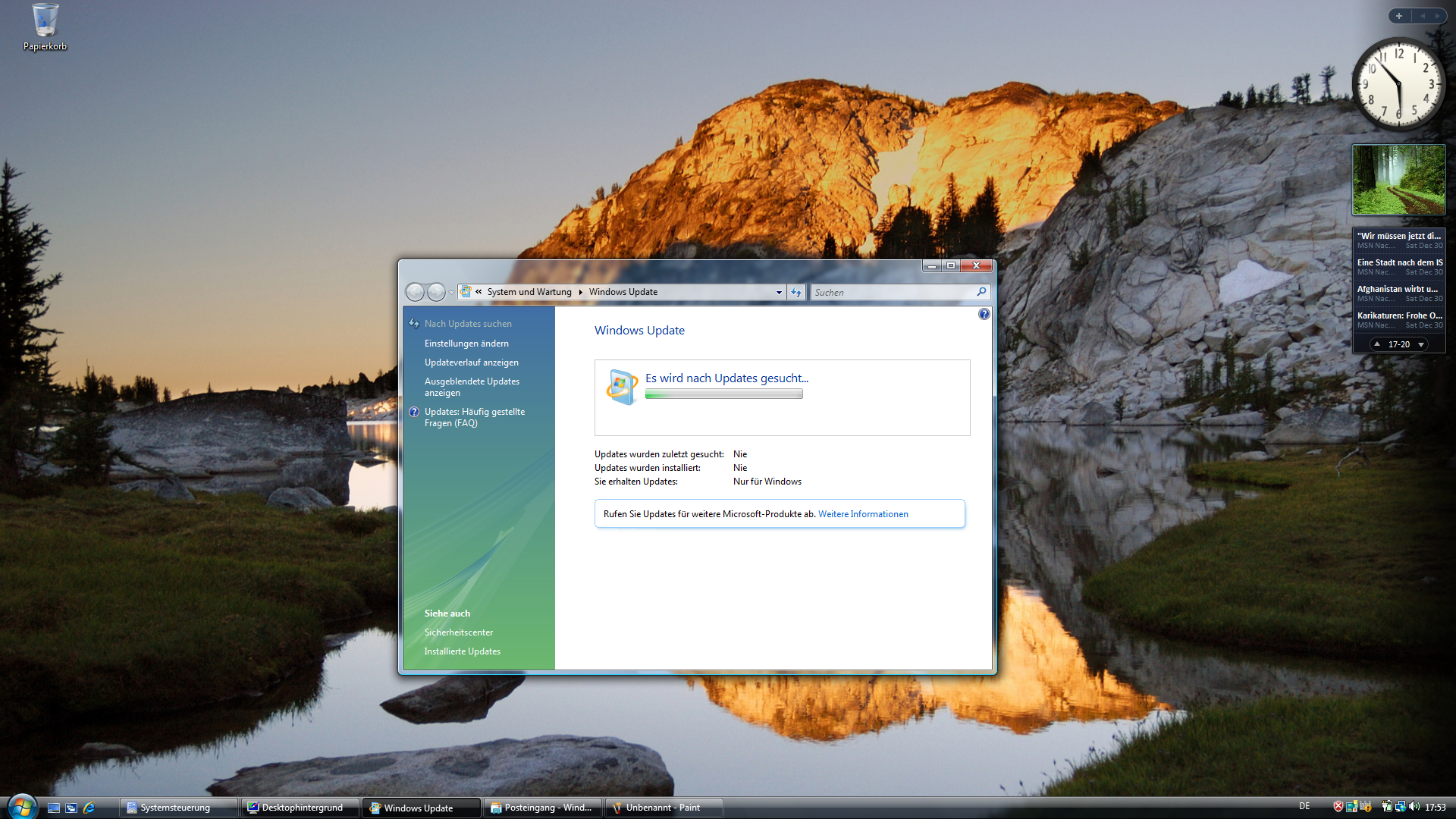 BSI warnt vor Nutzung von Windows Vista nach Support-Ende