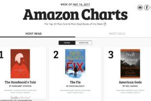 Amazon – Bücher-Charts werden nicht mehr nach Verkäufen sortiert