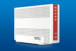 FRITZ!Box 6591 Cable mit FRITZ!OS 7.19-77042 im Labor erschienen