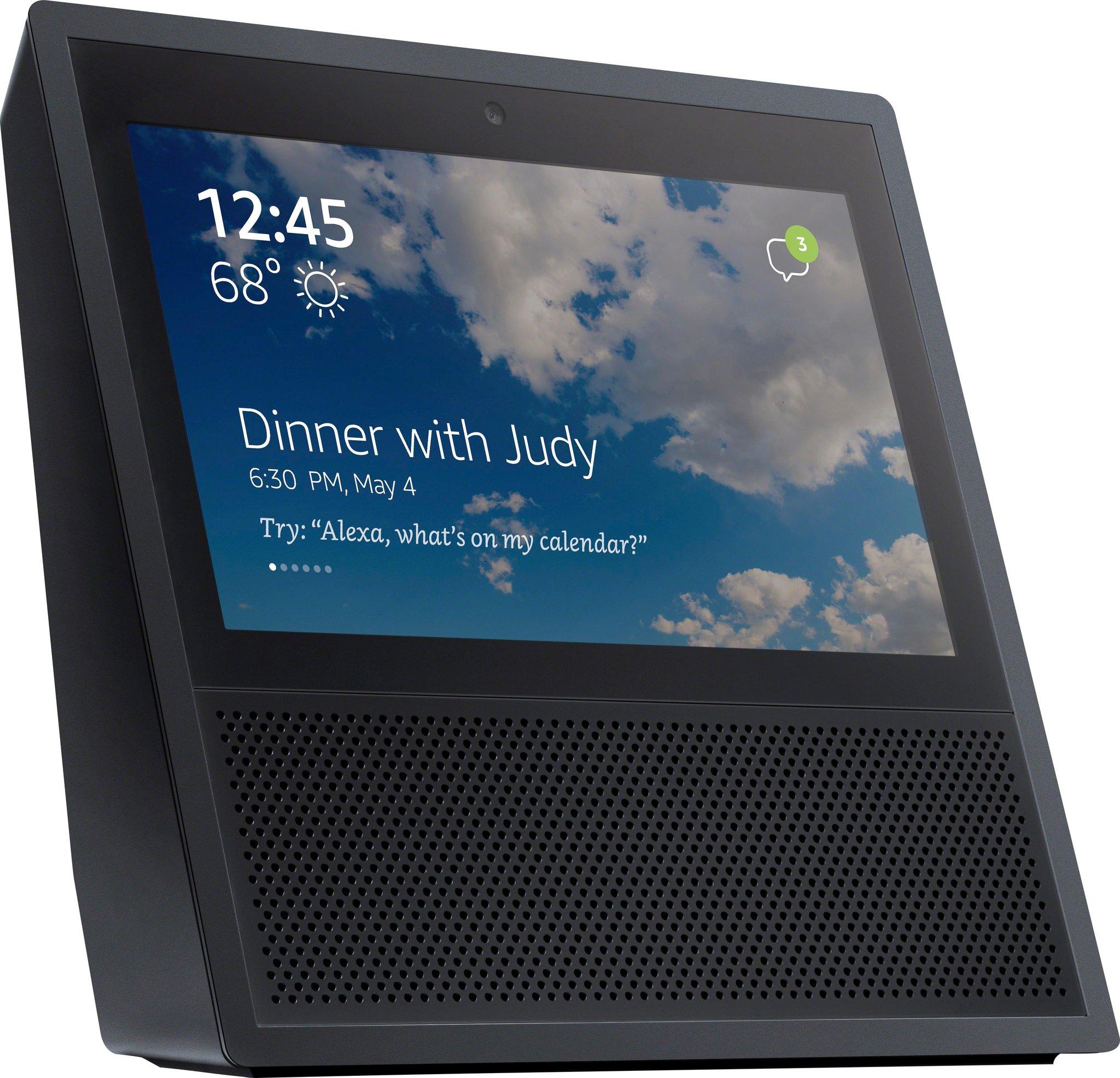 Amazon Echo: Erstes Bild zeigt neuen Assistenten mit Touchscreen