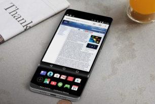 LG V30 mit zwei Displays – Konzept Render Bilder aufgetaucht