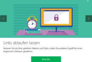 OneDrive Premium: Teilen mit Ablaufdatum festlegen ist integriert