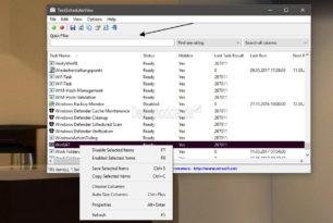 TaskSchedulerView 1.30 erschienen – Aufgabenplanung schnell nach Einträgen durchsuchen