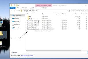 TC4Shell – 7-ZIP, RAR und viele weitere direkt im Datei Explorer anzeigen und entpacken