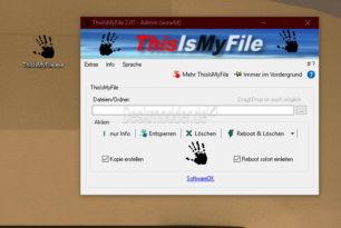 ThisIsMyFile – Daten entsperren, löschen mit einem Update