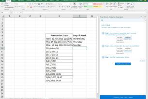 Excel Add-In – Transform Data by Example aus der Microsoft Garage