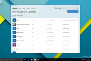 Windows 10 Fluent-Design: Der Store wird transparent