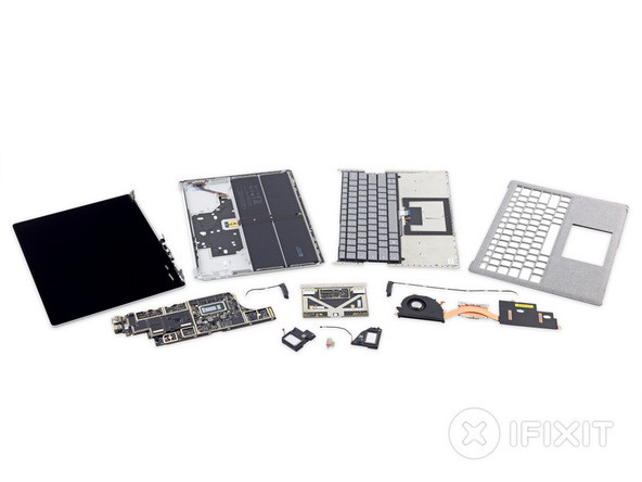 IFixit Teardown: Microsoft Surface Laptop nicht reparierbar