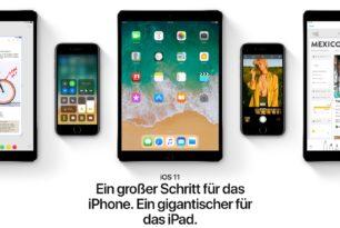 Drag & Drop in iOS 11 ist durchaus fortschrittlich