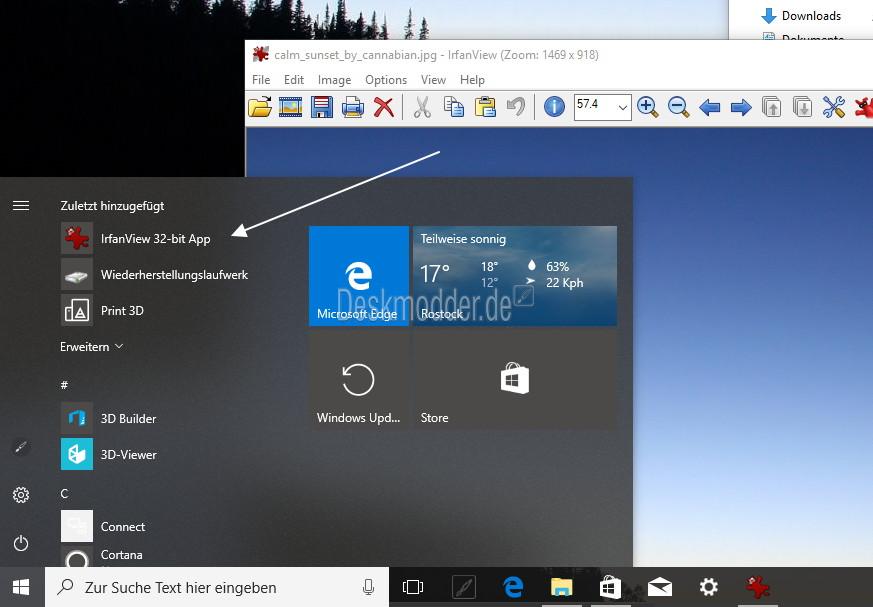 IrfanView als Windows 10 App im Windows Store [Update: Jetzt