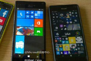 Fotos von zwei unveröffentlichten Lumia-Smartphones aufgetaucht