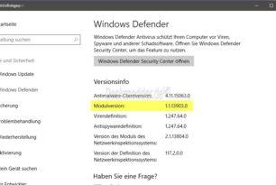 Sicherheitslücke in der Malware Protection Engine Modulversion 1.1.13903.0 geschlossen