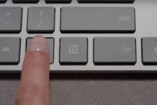 Microsoft Modern Keyboard mit Fingerprint ID vorgestellt