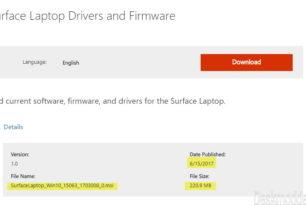 Surface Laptop – Neue Firmware und Treiber (15.06.2017) Changelog nun hinzugefügt