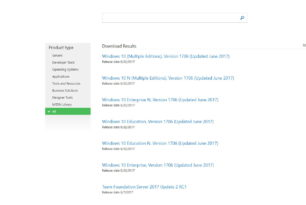 Windows 10 1706 (Update Juni 2017) Download steht kurz bevor