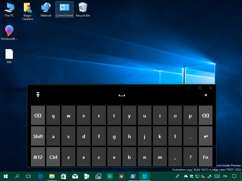 Microsoft macht windows 10 mobil for Window keyboard