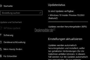 Windows 10 Mobile 15228 steht zum Download bereit