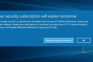 Windows Defender Antivirus – Schutz ist immer gegeben – Microsoft erklärt es in einem Beitrag