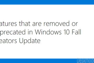 Windows 10 Fall Creators Update:  Das wird entfernt