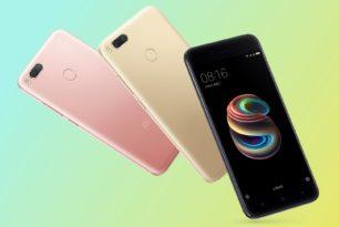 Xiaomi Mi 5X offiziell vorgestellt