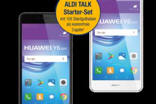 Huawei Y6 (2017) ab dem 27.Juli bei Aldi für 149,- Euro