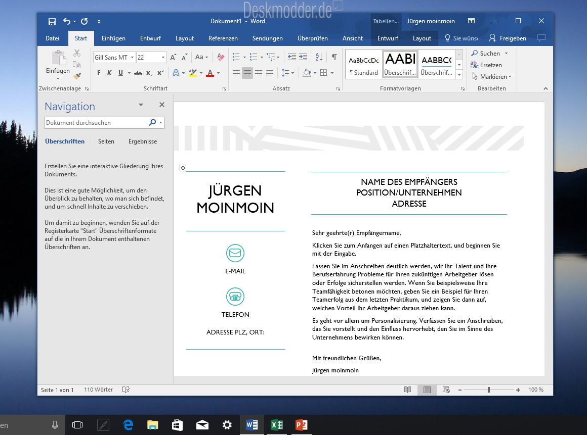 Microsoft Office Desktop Apps Einmal Angeschaut Windows 10