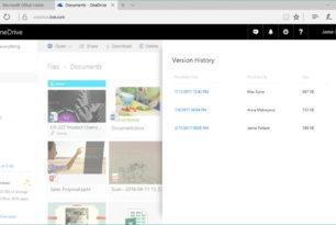 OneDrive: Alle Dateitypen können nun wiederhergestellt werden über den Verlauf