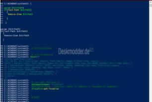 Mit PowerShell alle Infos zum PC, Treiber, Updates und mehr auslesen und anzeigen lassen