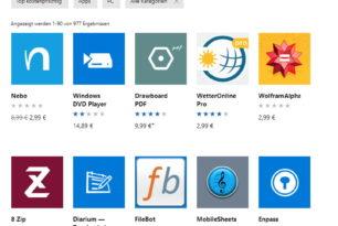 Windows 10 Apps im Preis reduziert wird zum Dauerangebot [Update]