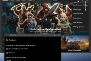 Windows 10 (Mobile) Store App mit einem Update und Änderungen