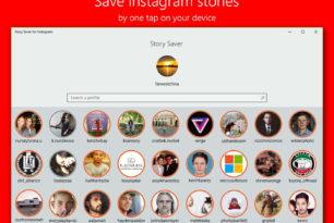 Story Saver for Instagram als Universal App im Windows Store
