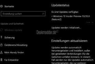 Windows 10 Mobile 15235 und 15230 steht für die Insider bereit