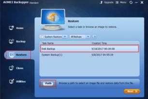 AOMEI Backupper 4.0.5 mit einigen Fehlerbehebungen ist erschienen