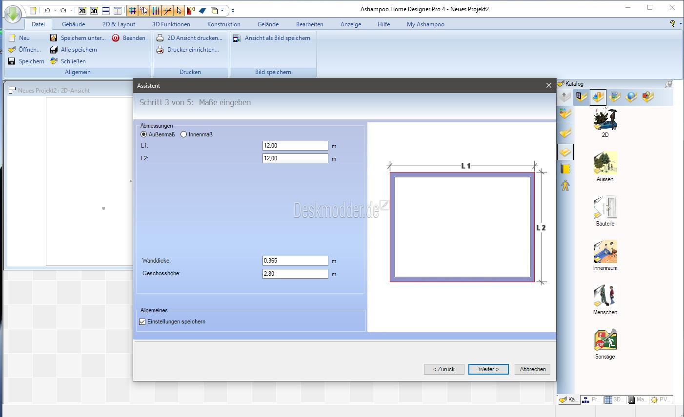 Ashampoo Home Designer Pro 4 - Kurz angeschaut und Gewinnspiel ...