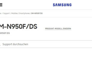 Galaxy Note 8 mit Dual Sim in Europa als SM-N950F/DS