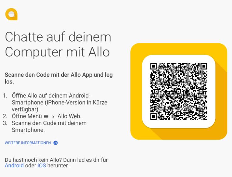 Google Allo - Desktop App