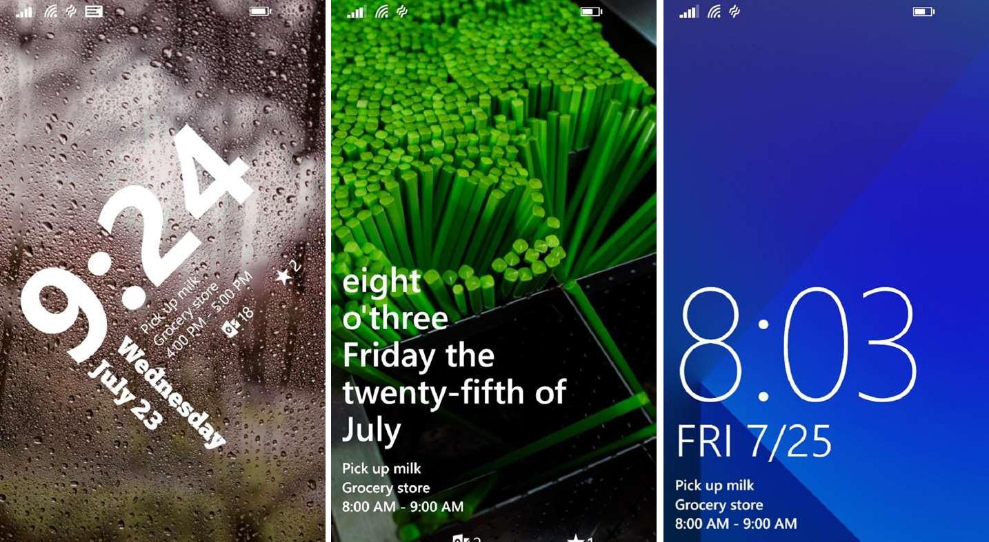 Windows 10 Mobile: Live Lock Screen BETA wieder verfügbar ...